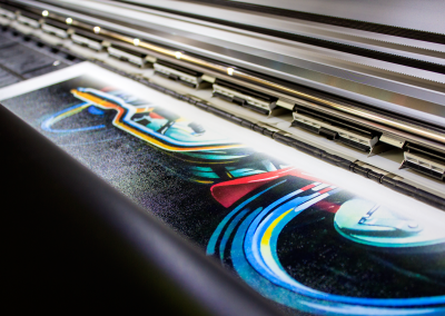 large canvas print graphic design