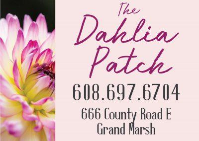 site sign design flower floral business