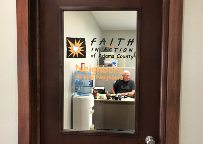 Faith in Action: Window Vinyl